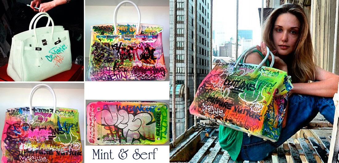 luxury-creator.com Custom hermes Birkin Mint & Serf