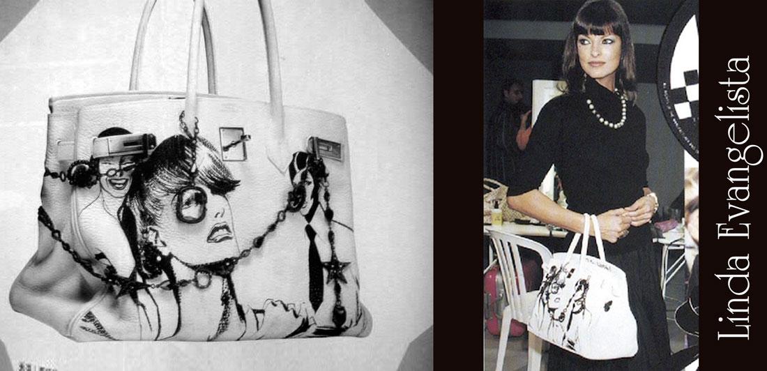 luxury-creator.com Custom hermes birkin Linda Evangelista