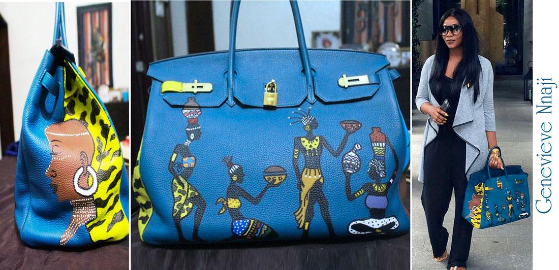 luxury-creator.com Custom hermes birkin Genevieve Nnaji