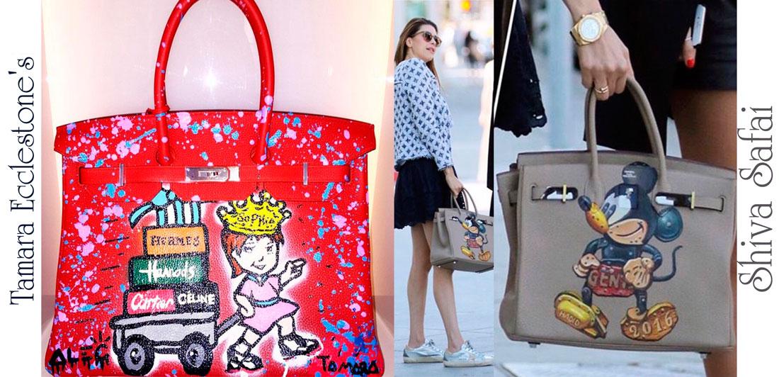 luxury-creator.com Custom hermes birkin Tamara Ecclestones, Shiva Safa